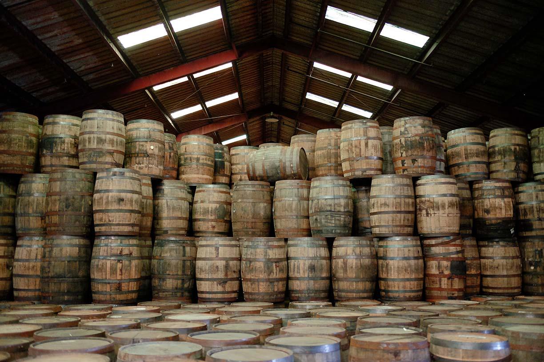 bourbon tynnyri