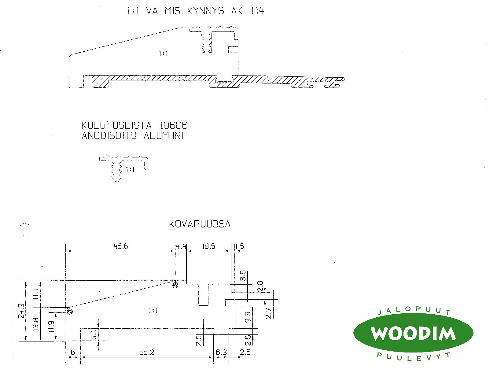 kynnys-Woodim-jalopuu