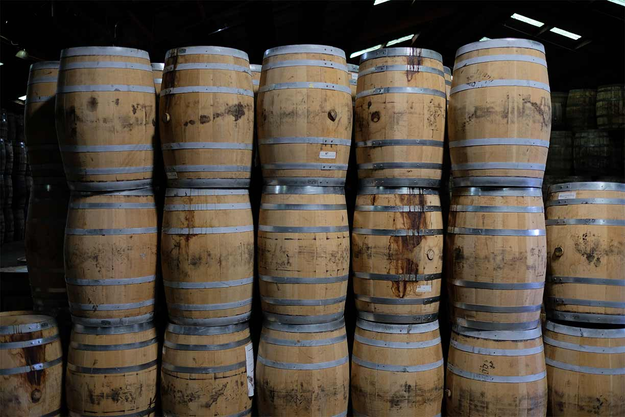 New American white oak barrels